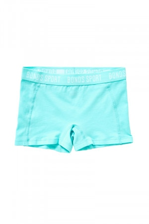 Bonds Girls Active Racer Short Aqua Frost UY6E1A JPE