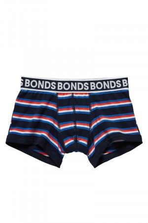 Bonds Boys New Era Fit Trunk Retro Stripe 36