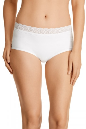 Bonds Comfytails Lace Full Brief White