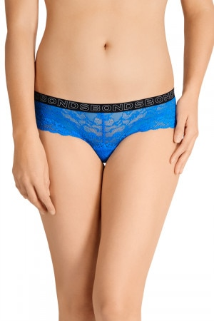 Bonds Lacies Hot Shortie Ultrablue