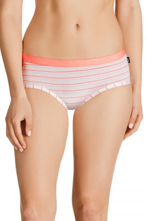 Bonds Hipster Boyleg Stripe Simple Stripe Coral