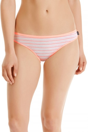 Bonds Hipster Bikini Simple Stripe Coral