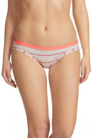 Bonds Cottontails Bikini Marble Silk Pink Stripe
