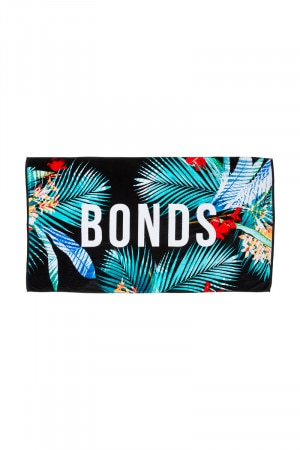 Bonds Beach Towel Aloha Black ZYY3I 9CT