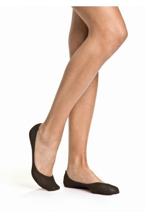 BONDS Womens No Show Heel Grip Black L7311O W6O