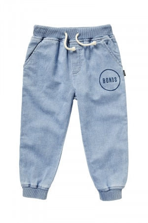 Kids Denim Stretch Trackie