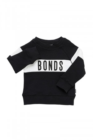 Bonds Kids Cool Sweats Pullover Black KY4WA BAC