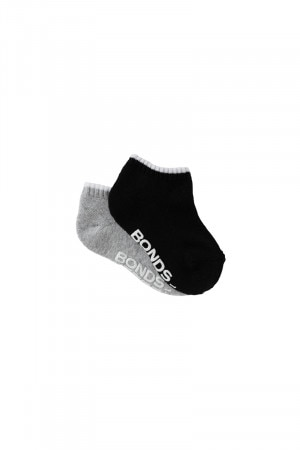 Bonds Baby Logo Low Cut Socks 2 Pack Pack 03 RYLN2N 03K