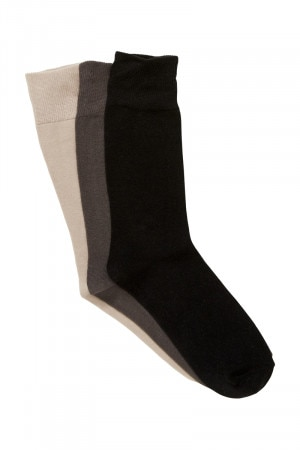 Bonds Mens Everyday Crew Socks 3 Pack Pack 01 S8471N 01K