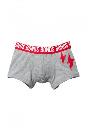 Bonds Boys Fit Trunk Grey With Lightning UXPN1A 91D