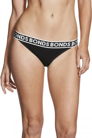 Bonds Cotton String Skimpy Black WX6YA BAC