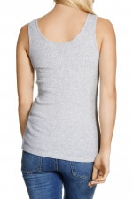 Bonds Basic Rib Tank New Grey Marle
