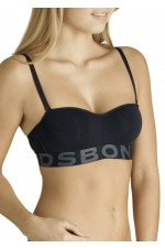 Bonds Wideband Tube Bra Black Rockstar Black