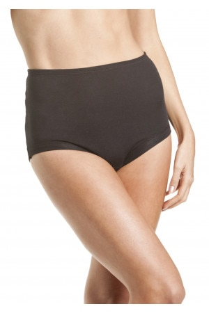 Bonds Cottontails Full Brief with Lycra Black