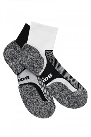 Bonds Mens Ultimate Comfort Quarter Crew 2pk