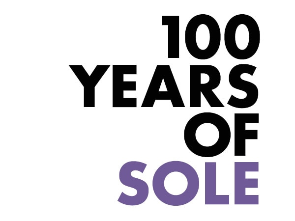 100 YEARS OF SOLE