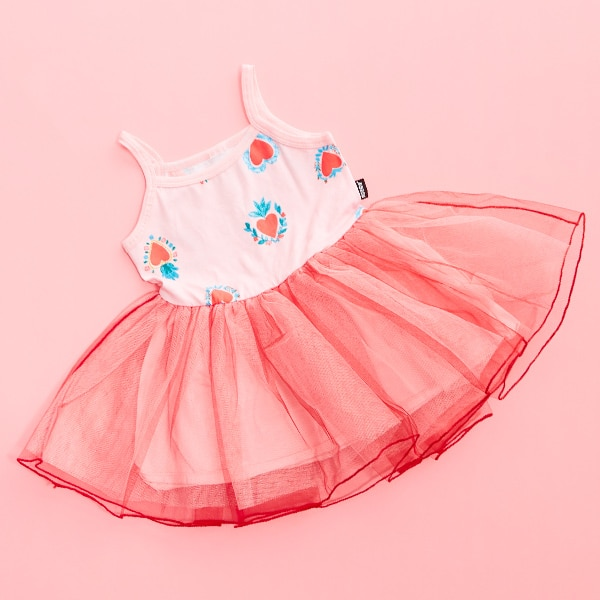 DANCE STRING TUTU DRESS