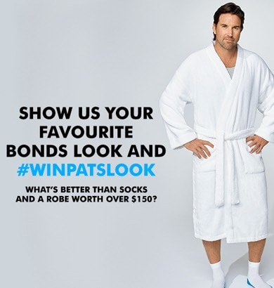 WIN PAT RAFTER'S LOOK