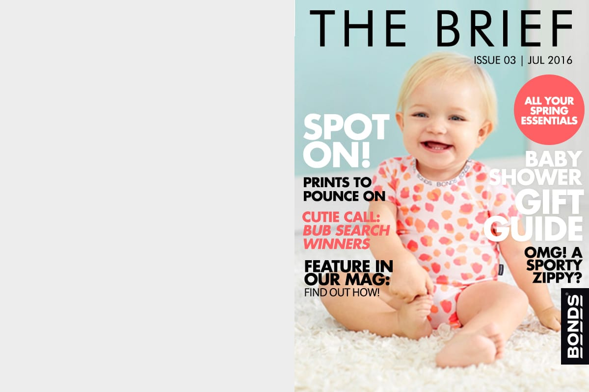 BONDS eMagazine - The Brief. Issue 3 July 2016