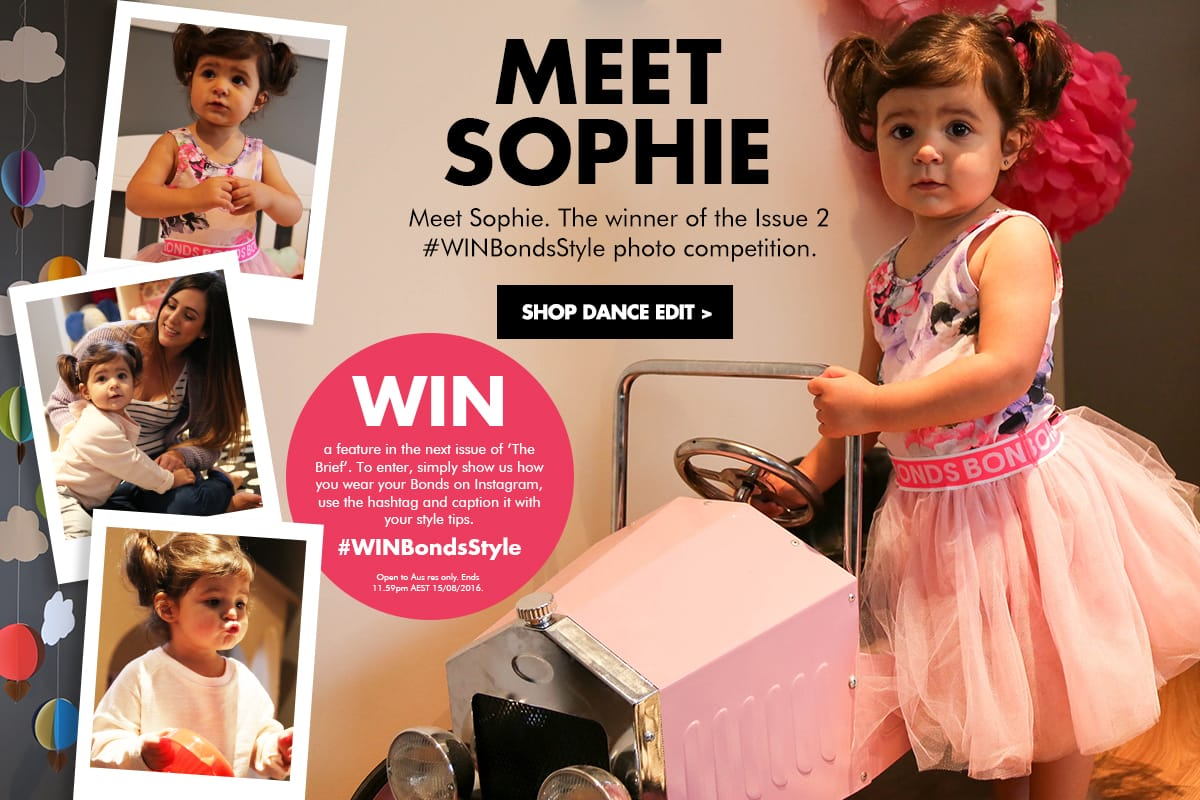Meet Sophie - the winner of Issue#2 #WINBondStyle photo competition