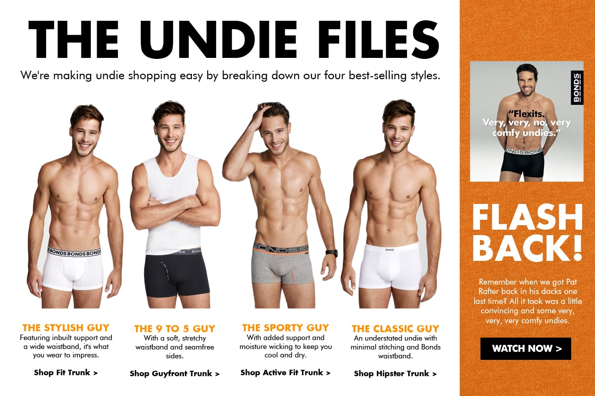 The Undie Files - Men's Underwear